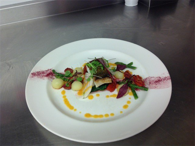 cod and candy beetroot